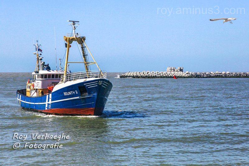 Bounty vissersschip..