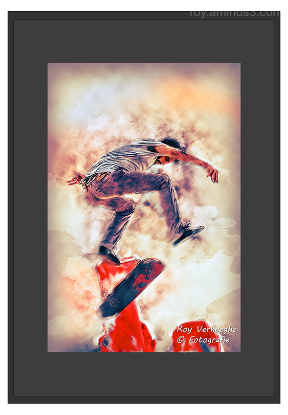 Scateboarding..