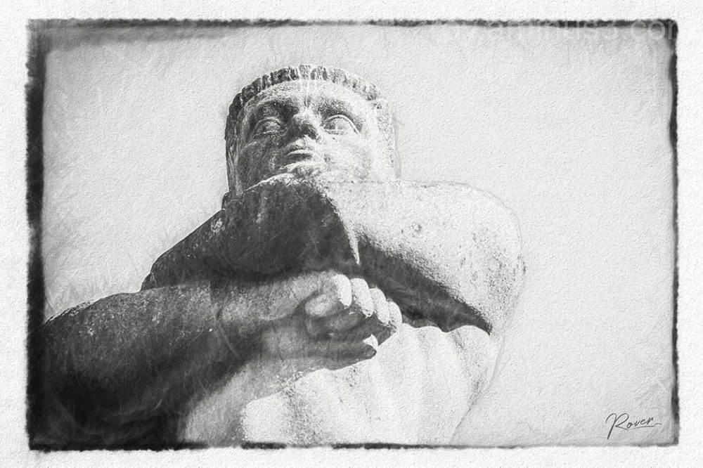 statue sea fisch sailer