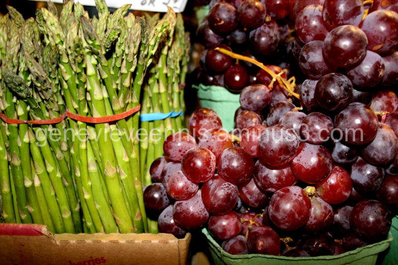 Grapes and Asparagus