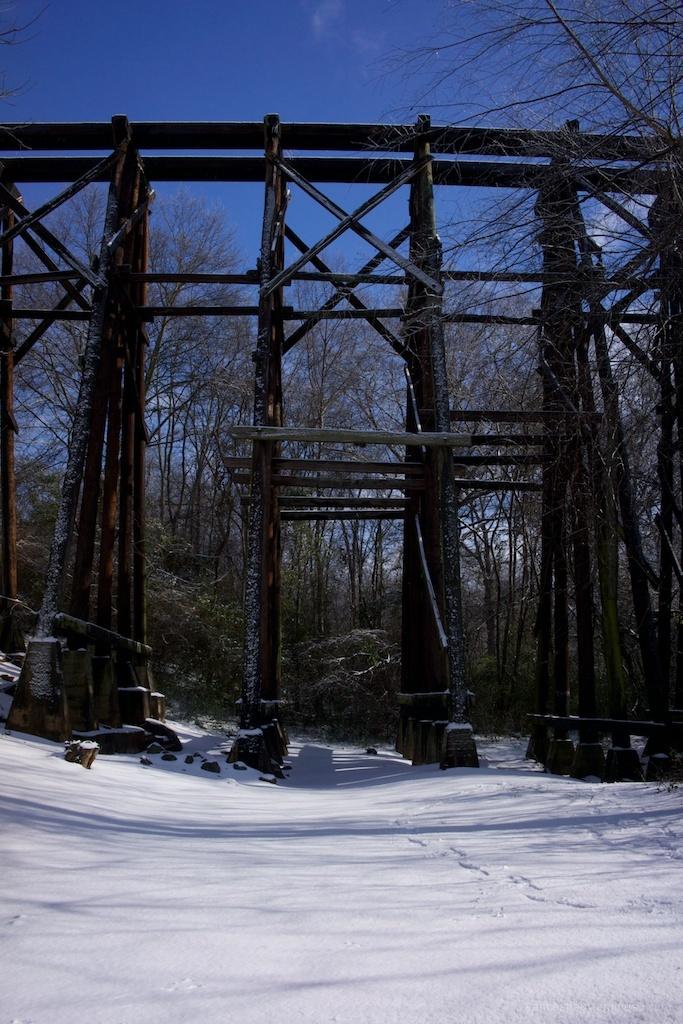 REM Murmur trestle in the snow