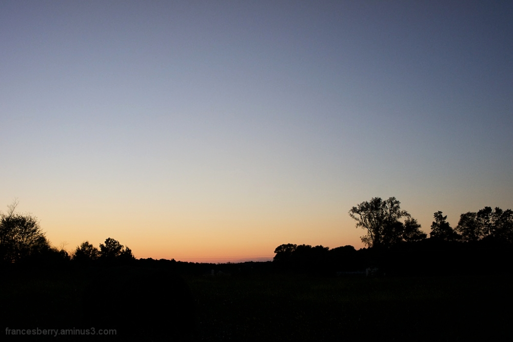 Sunset and Silhouette, #2