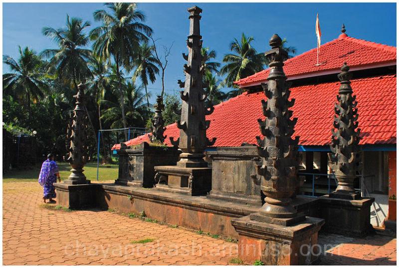 Landscape rural temple