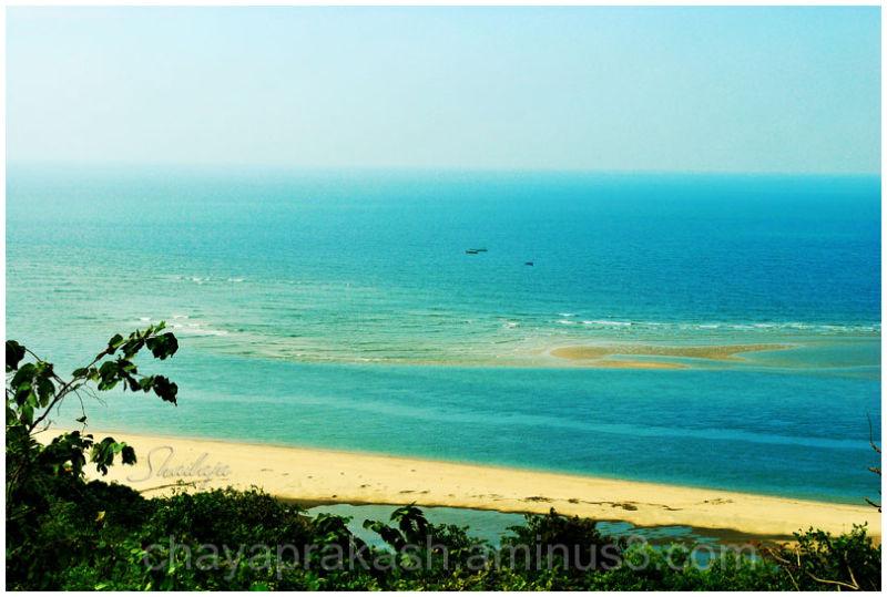 landscape rural sea shore