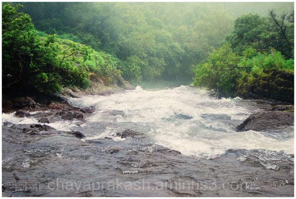 waterfall at kas