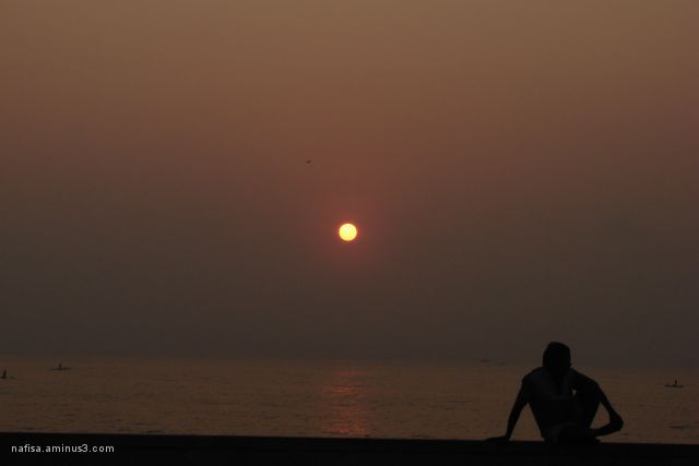 enjoying d sunrise