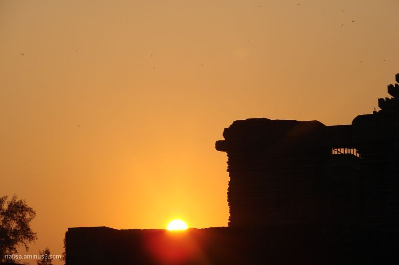 Sunset,dusk,ruins,temple