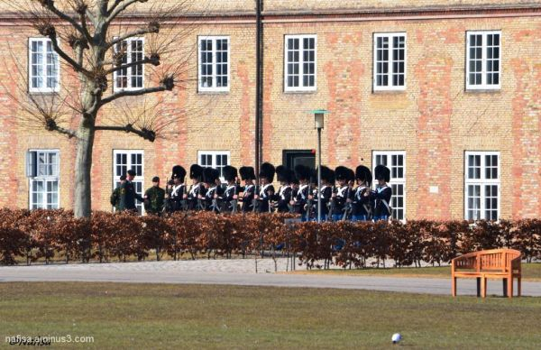 Royal Guards@Rosenborg Castle, Denmark
