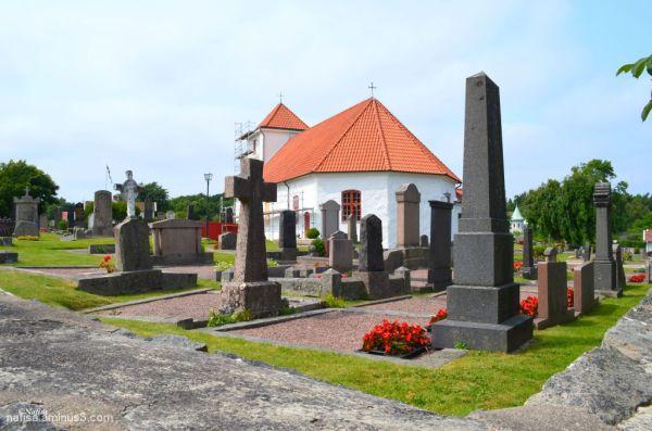 an old church on Styrso - gothenburg archipelago
