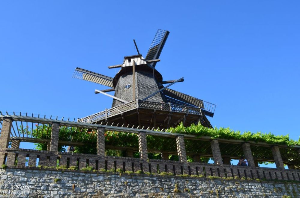 Historic windmill Potsdam Germany