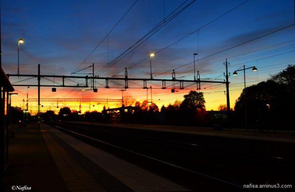 Sunset @ Skövde