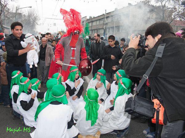 مراسم روز عاشورا - جنوب شرقی تهران