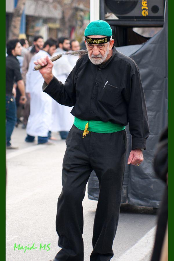 Old Man in Imam Hussein Day - Tehran -Iran