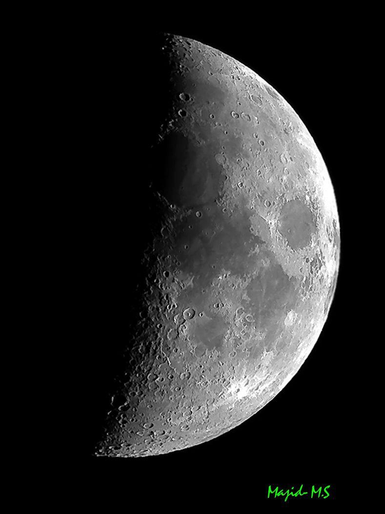 Moon @ 500mm