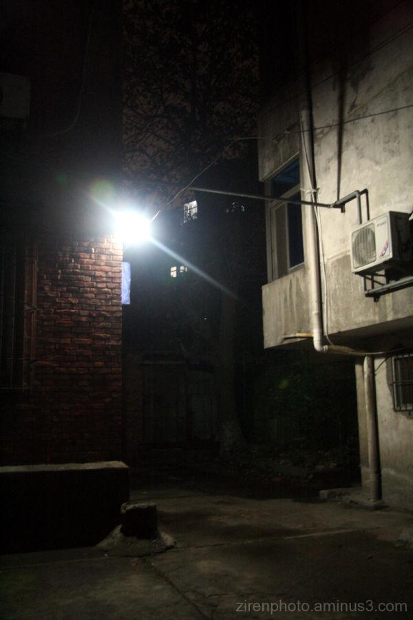 A quiet and serene alley inJiujiang, China.