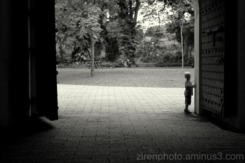 Taken at Fort Canning Hill in Singapore。