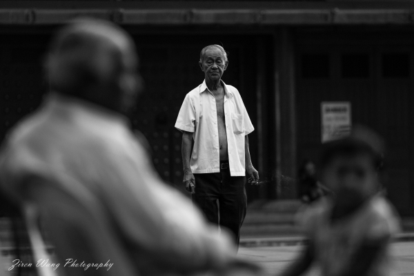 No country for old men - Chinatown, Singapore