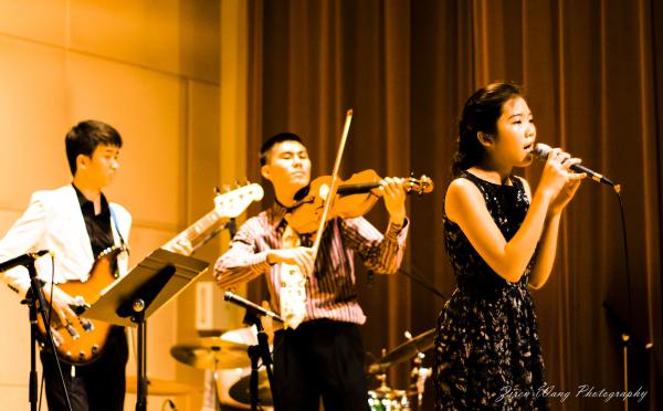 Raffles Jazz concert 2013 held at Raffles Inst.