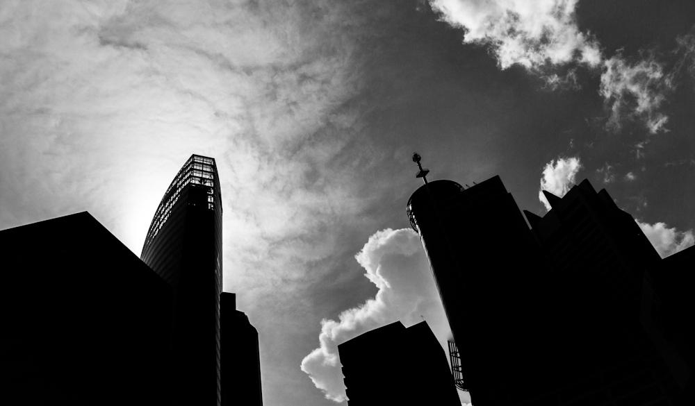 Cloud on the Horizon, Singapore Raffles Place.