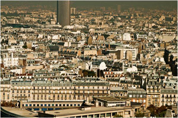 View on Paris from Sacré Coeur