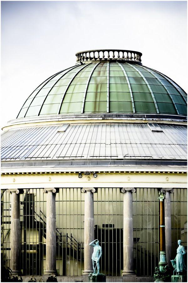 botanical garden of Brussels, Belgium