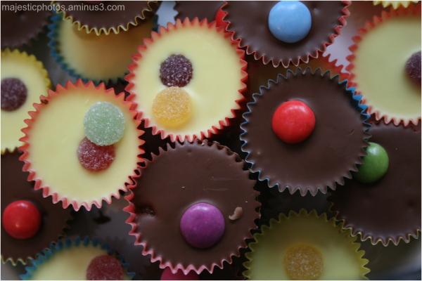 smartie cakes