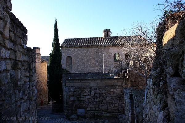 Le Baux de Provence street