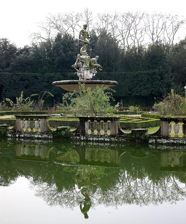 Reflections Boboli Gardens