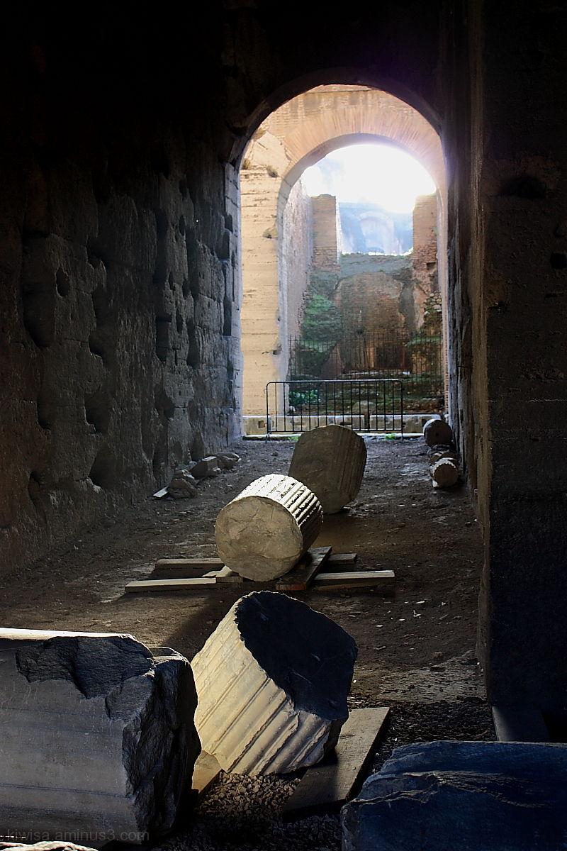 Arch Colosseum Rome