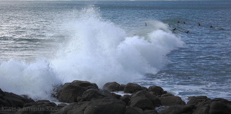 #1 Raglan waves