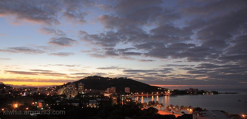 Sunrise Noumea