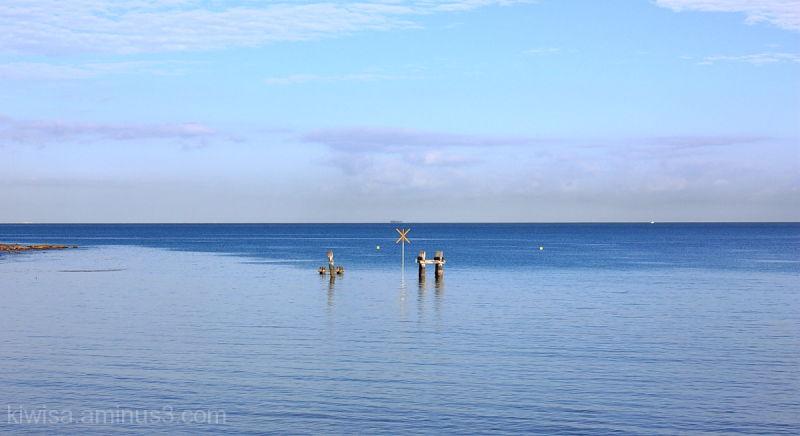blue water  Noumea