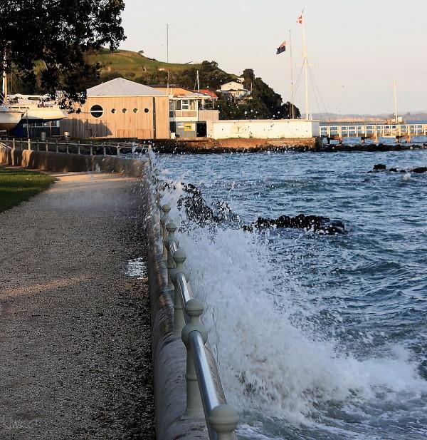 Waves in Hauraki