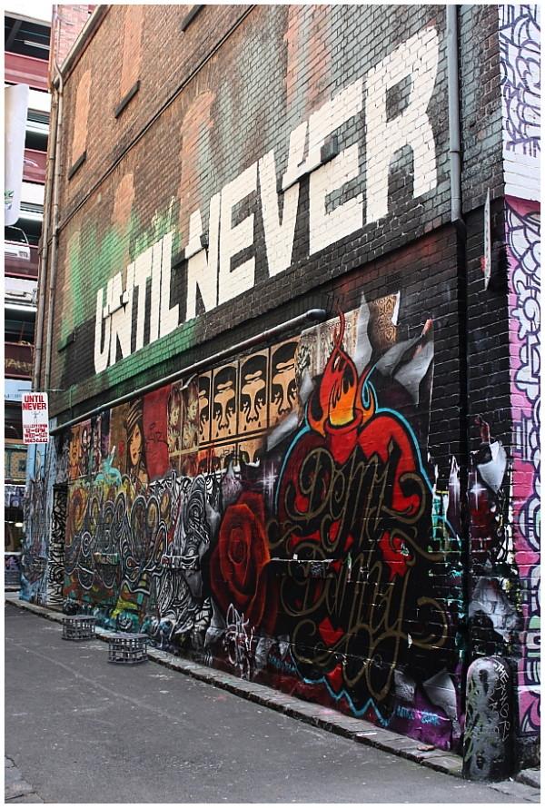 Until never