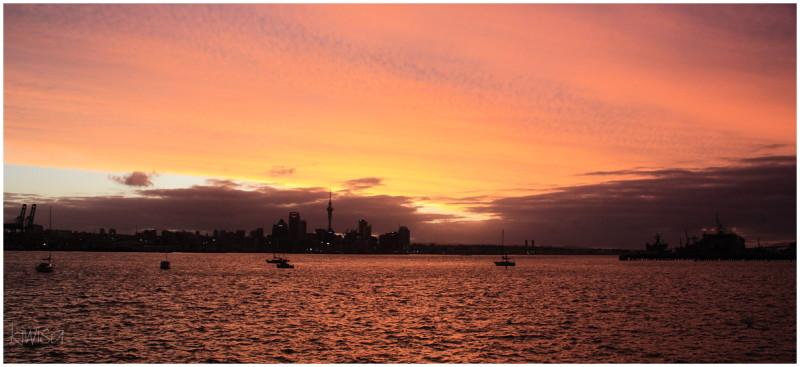 Sunset Auckland