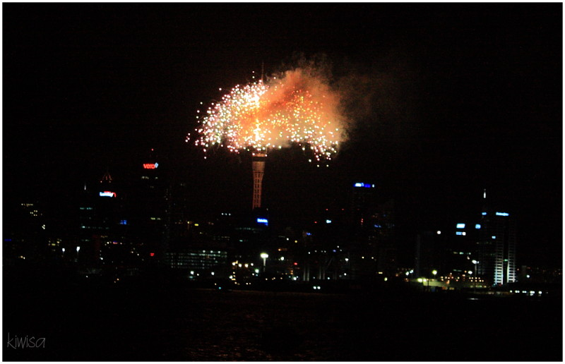 Skytower Fireworks
