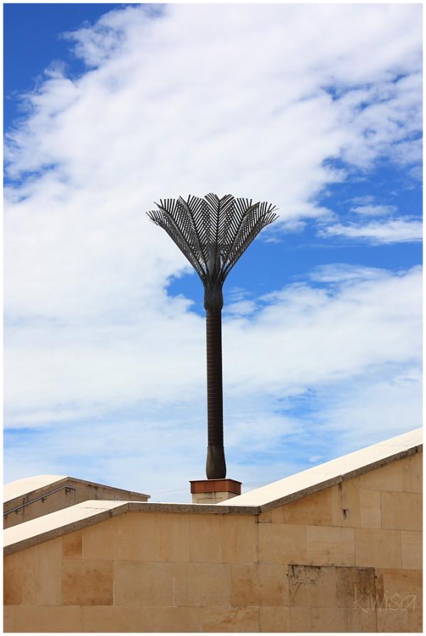Metal Nikau Palm