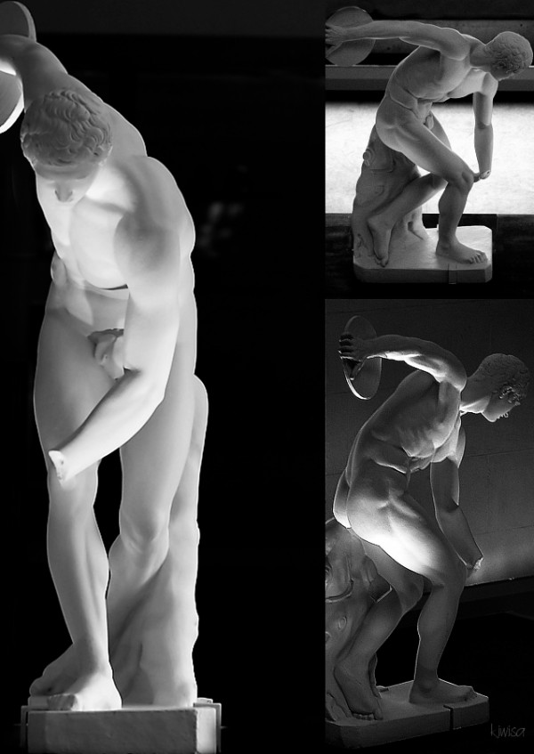 Discobolus from different angles