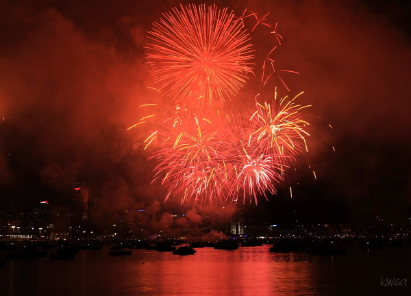 Fireworks for Rugby World Cup