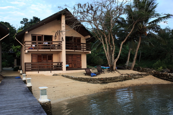 Vanuatu lodge