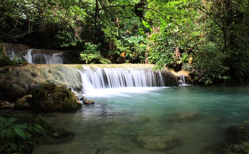 Vanuatu Waterfall Mele Cascades Waterfall Landscape