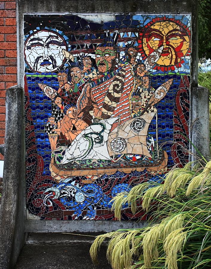 #2 Turangi mosaic murals
