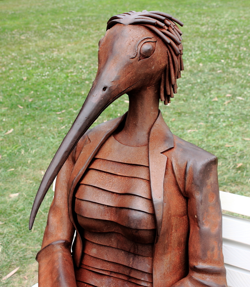 #10 /2 Sculpture in the Gardens: Bird Lady