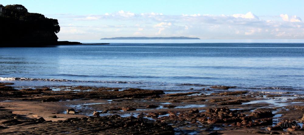 Tiritiri Matangi from Murrays Bay Beach
