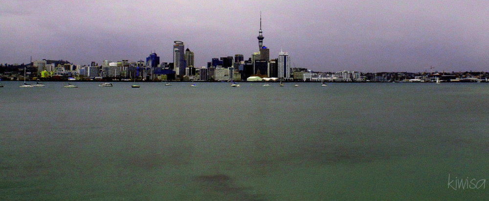 Auckland from Stanley Bay
