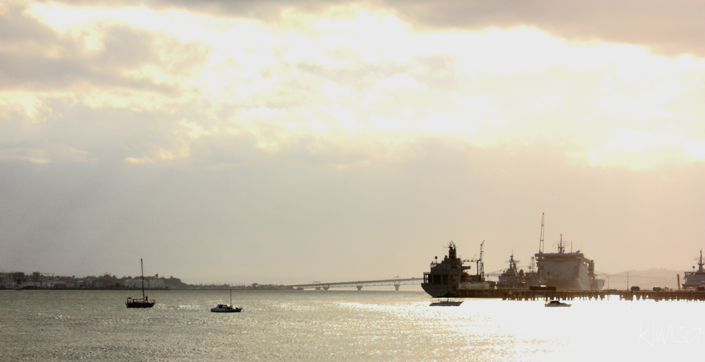 Late afternoon harbour view