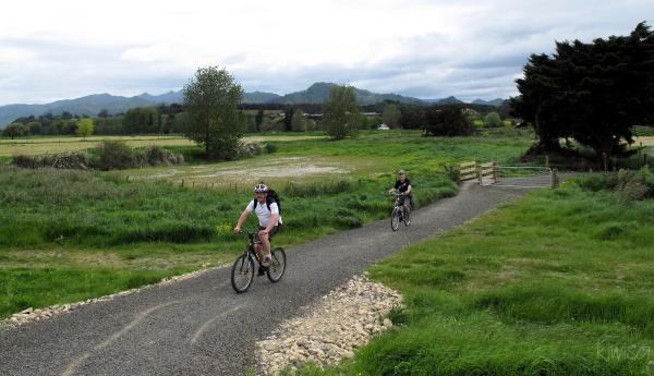 Cycling the Hauraki Rail Trail