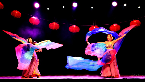 Chinese Festival dancers