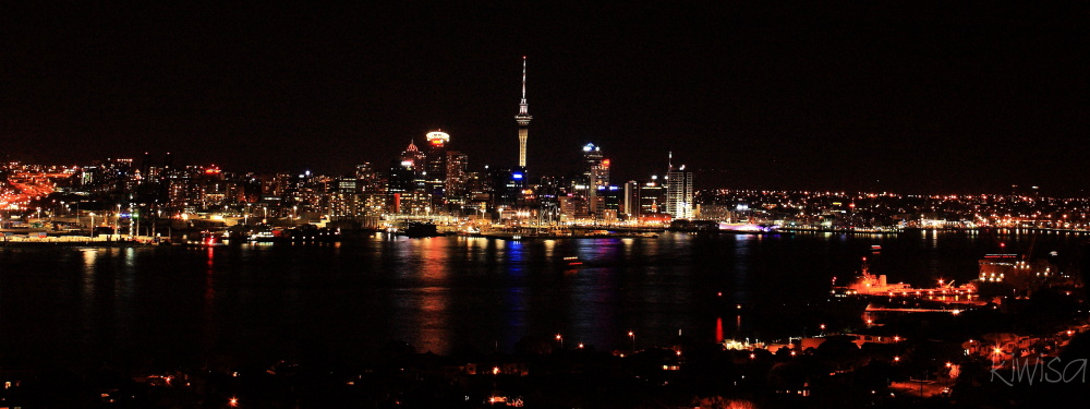 Auckland night lights