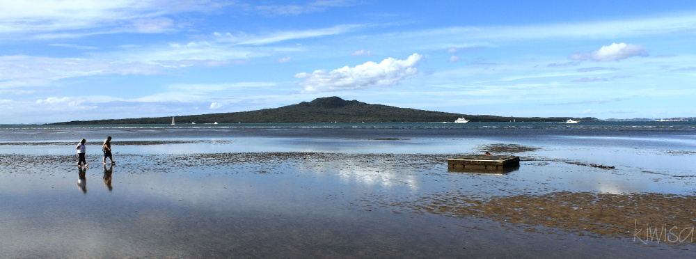 Rangitoto on an Autumn afternoon